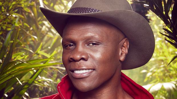 Chris Eubank has been voted out of the jungle