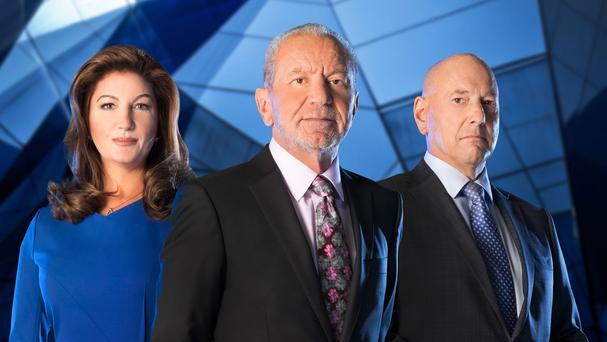 Karren Brady, Lord Sugar and Claude Littner put the candidates through their paces in this week's episode of The Apprentice (BBC/PA)