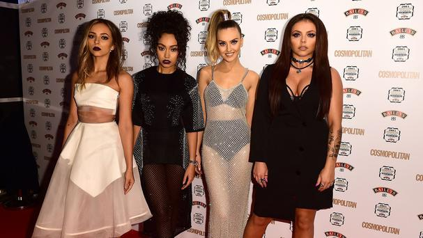 Little Mix arriving at the Cosmopolitan Ultimate Women of the Year Awards