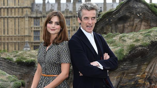 Peter Capaldi said he used to love being in the Tardis with Jenna Coleman