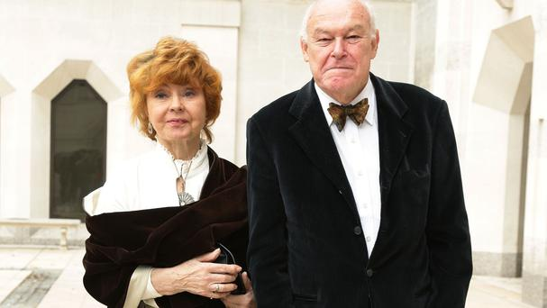 Prunella Scales and Timothy West have been married for 52 years