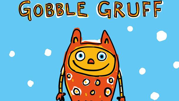 The front cover of Gobble Gruff, the second book by former BBC Apprentice 2015 candidates Sam Curry and Elle Stevenson (Thomasadamcurry/PA)