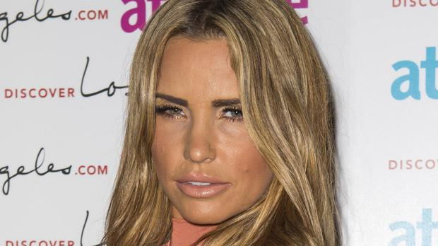 Katie Price did not attend court for the hearing