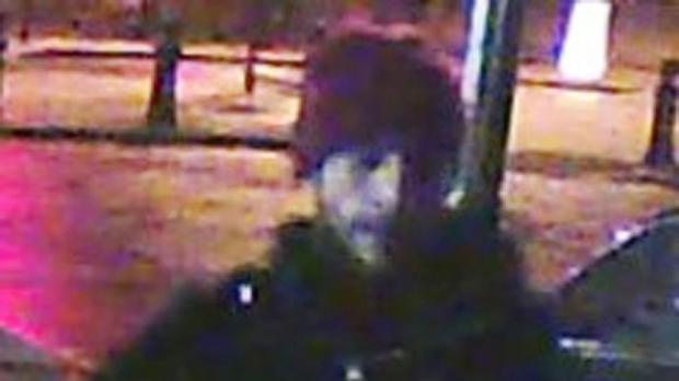 A CCTV image of a man police are hunting over a burglary at Simon Cowell's mansion (Met Police/PA)