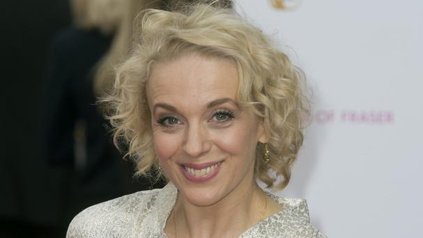 Amanda Abbington says it's a