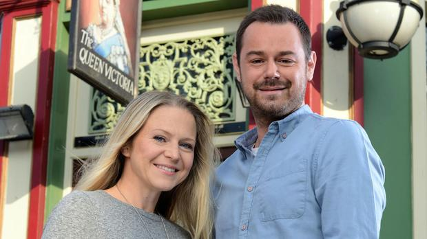 Danny Dyer and Kellie Bright's characters are to marry in the New Year's Day episode of EastEnders (BBC/PA)