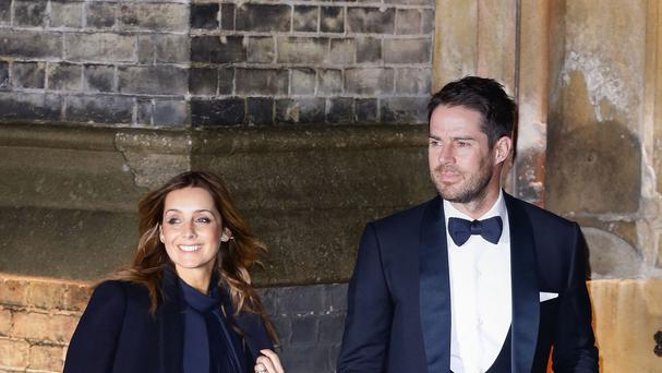 Jamie and his wife Louise Redknapp