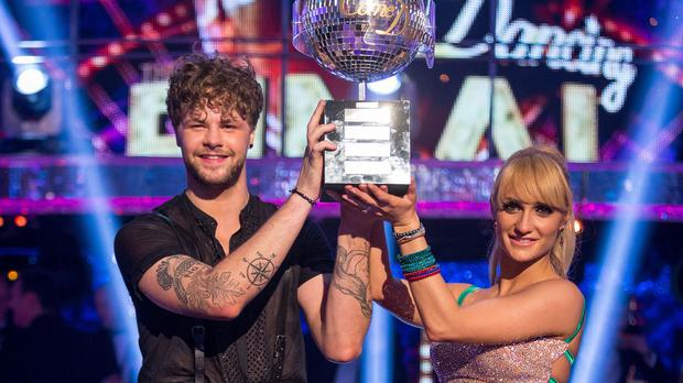 Aliona Vilani's triumph at the weekend with Jay McGuiness marked the second time she has claimed the Glitterball trophy