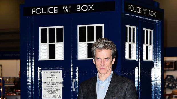 Doctor Who stars Peter Capaldi as the Time Lord