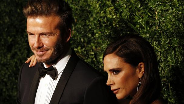Victoria Beckham's fashion range and related activities made £34.5 million, while David brought in £17.2 million through Beckham Brand Holdings and £14.1 million through Footwork