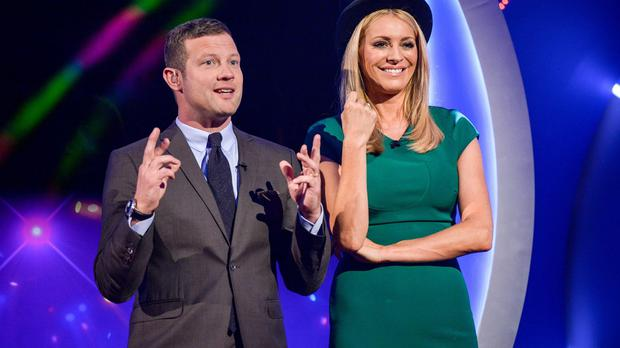 Dermot O'Leary and Tess Daly helped boost the giving during Children In Need 2015