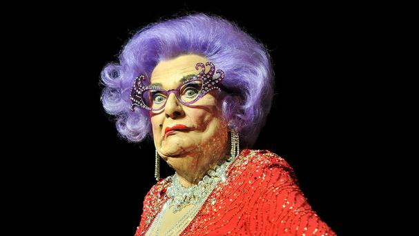 Barry Humphries - seen in character as Dame Edna Everage - criticised a