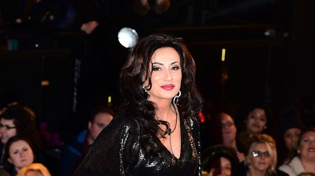 Nancy Dell'Olio arrives at the start of the latest series of Celebrity Big Brother at Elstree Studios, Borehamwood