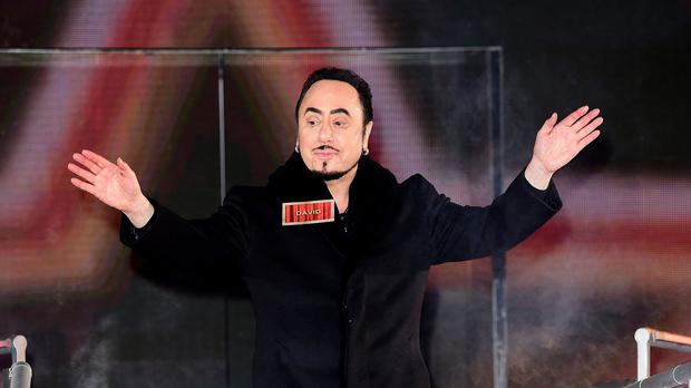 David Gest arriving at the start of the latest series of Celebrity Big Brother