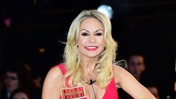 Kristina Rihanoff has told her CBB housemates that she is pregnant