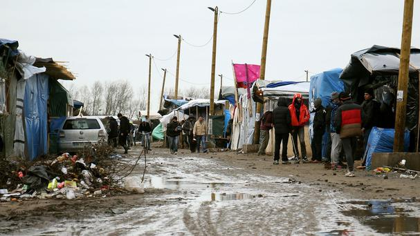 Calais is home to the large refugee camp known as the Jungle, where migrants and refugees wait to enter the UK