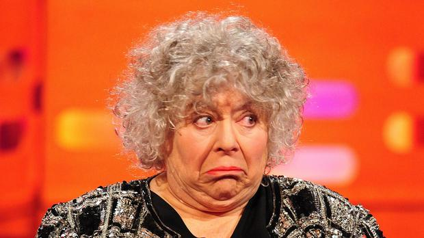 Miriam Margolyes wanted a role in the TV series Dickensian