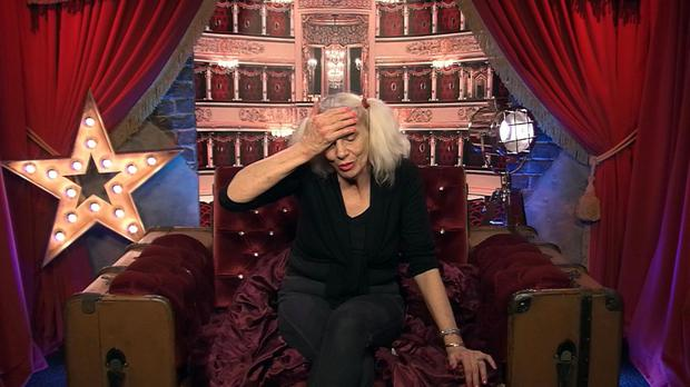 Angie Bowie left Celebrity Big Brother because of illness (Channel 5/PA)