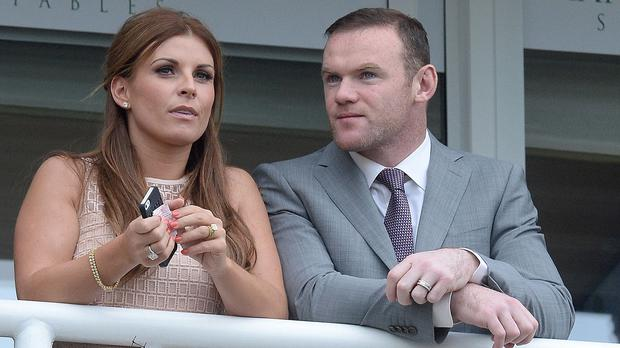Coleen Rooney gave birth to her third son on Sunday