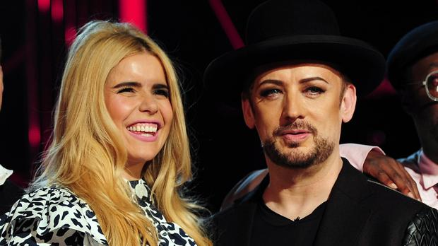BBC bosses reportedly had to tone down an episode of The Voice after a row between Paloma Faith and Boy George