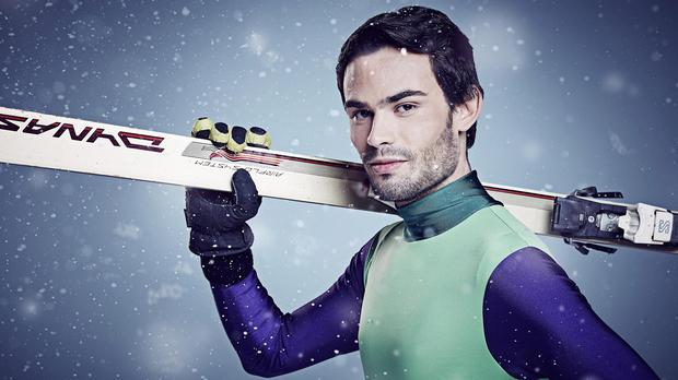 Mark-Francis Vandelli injured himself during the Snow Cross challenge