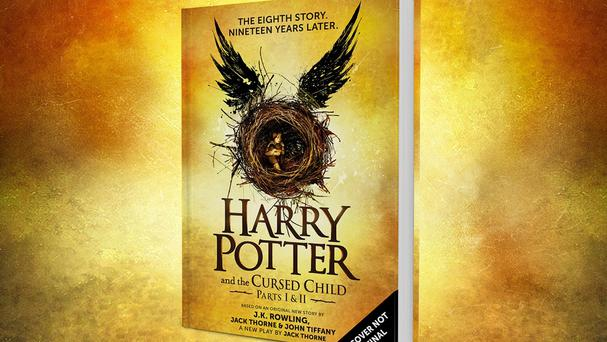 The script of the new stage play Harry Potter And The Cursed Child will be released as a book on July 31 (JK Rowling PR/PA)