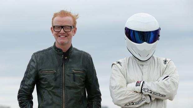 Chris Evans is one of the new presenters of the BBC's Top Gear programme, along with old favourite The Stig