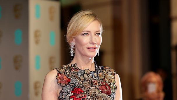 Cate Blanchett attending the EE British Academy Film Awards at the Royal Opera House, Bow Street, London. PRESS ASSOCIATION Photo. Picture date: Sunday February 14, 2016. See PA Story SHOWBIZ Baftas. Photo credit should read: Yui Mok/PA Wire