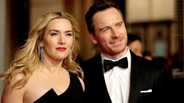 Kate Winslet and Michael Fassbender attending the EE British Academy Film Awards at the Royal Opera House, Bow Street, London. Photo: Yui Mok/PA Wire