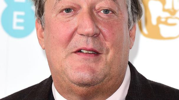Stephen Fry said he was just