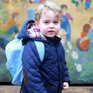 Prince George (Duchess of Cambridge/PA)