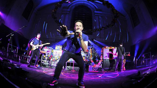 Coldplay will be headlining the Sunday night line-up at Glastonbury