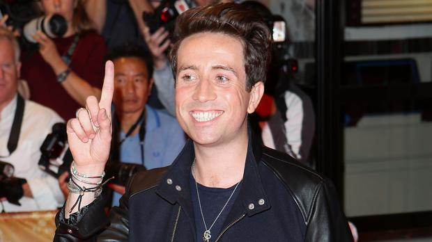 Nick Grimshaw attending the X Factor media launch in London last August - reports say he will not return as a judge for the next series