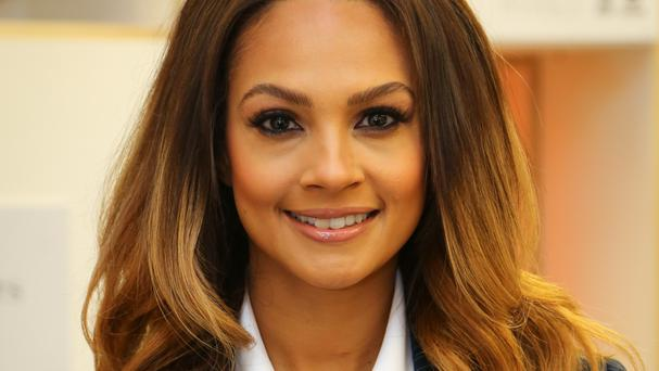 Alesha Dixon said her two-year-old daughter can already use an iPad