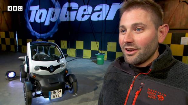 Former Top Gear producer Oisin Tymon