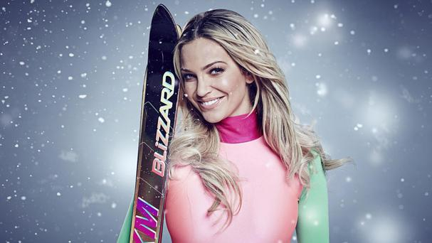 Sarah Harding is out of Channel 4 ski show The Jump after rupturing a ligament