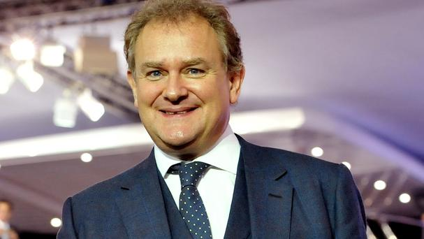 Hugh Bonneville told Desert Island Discs he was 'absolutely terrified' doing his first scene with Dame Maggie Smith on Downton Abbey