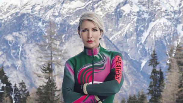 Heather Mills became the latest celebrity to crash out of the reality sport show, The Jump (Channel 4)