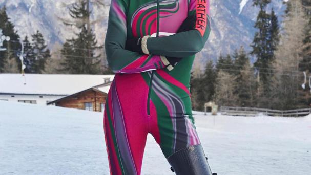 Heather Mills became the latest celebrity to crash out of the reality sport show The Jump (Channel 4/PA)