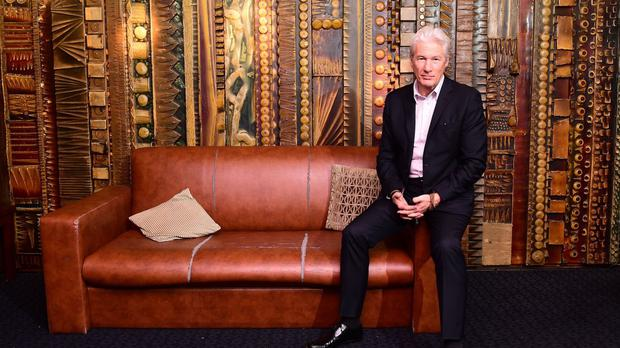 Richard Gere attending a screening of his new film Time Out Of Mind at the Curzon Cinema in London