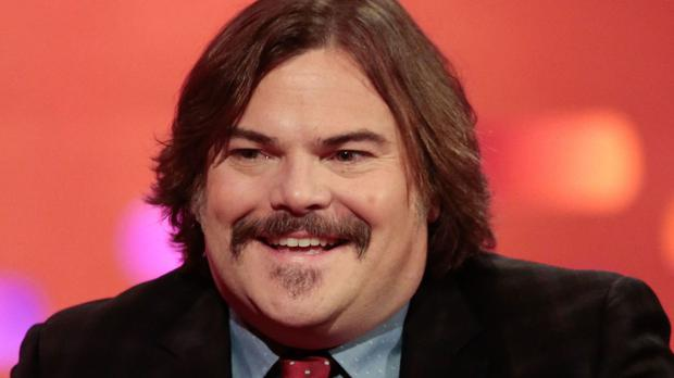 Jack Black said he is 'excited' about the prospect of Donald Trump and Hillary Clinton competing to be the next US president