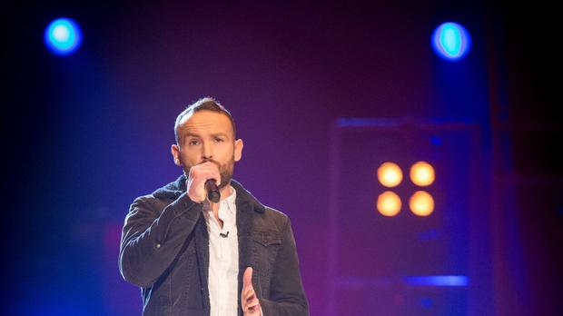 The Voice contestant Kevin Simm.