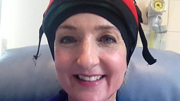 Victoria Derbyshire said she has been tearful since her final chemotherapy session (BBC)