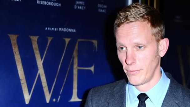 Laurence Fox rebuked a heckler at the theatre