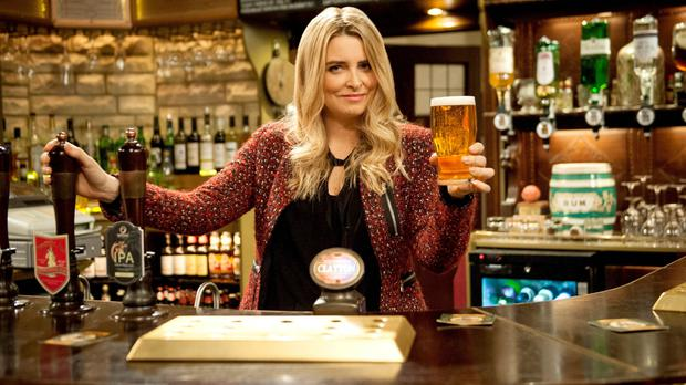Charity Dingle, played by Emma Atkins, will make a dramatic return to Emmerdale (ITV/PA)