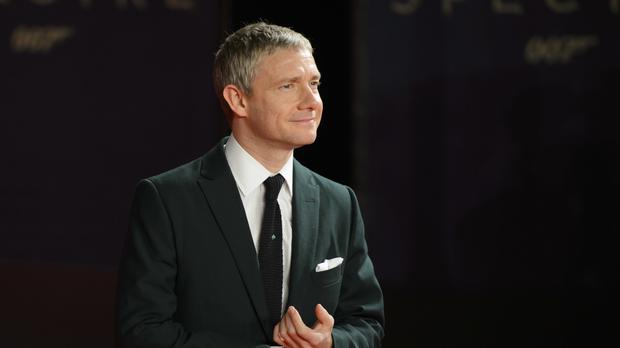 Martin Freeman was recognised for his work on Stick Man
