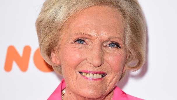 Mary Berry attends the 42nd Broadcasting Press Guild awards