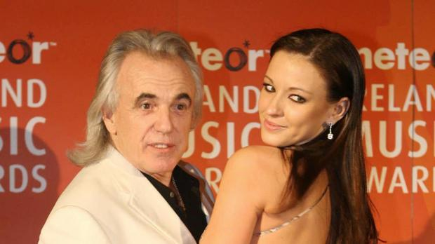 Peter Stringfellow and wife Bella