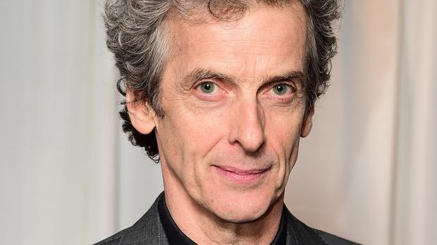 Peter Capaldi turned the air blue with salty insults to the applause of the Letters Live audience