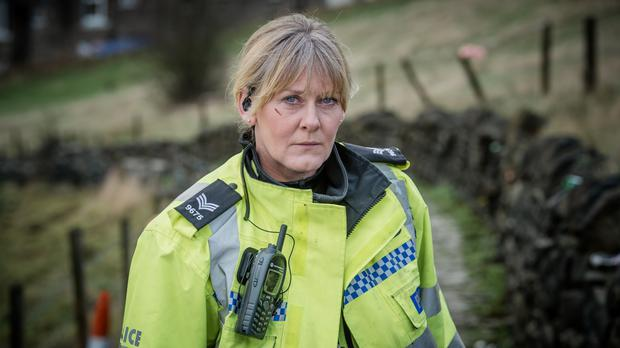 Sarah Lancashire as Sergeant Catherine Cawood in Happy Valley (BBC/PA)